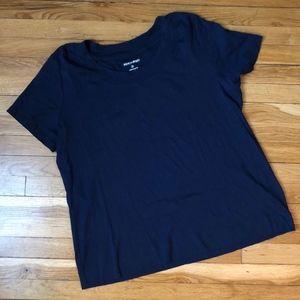 Fashion Bug Navy Blue Short Sleeve Tee 2X
